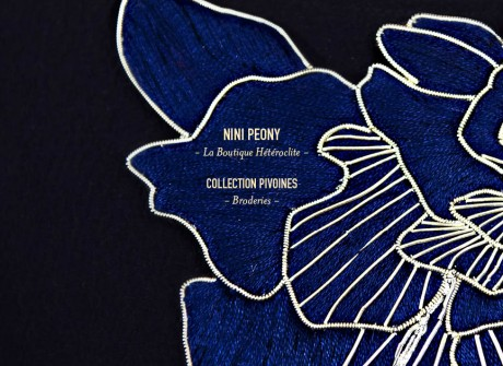 Collection Pivoine – Broderie