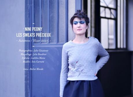 Les sweats précieux de Nini Peony