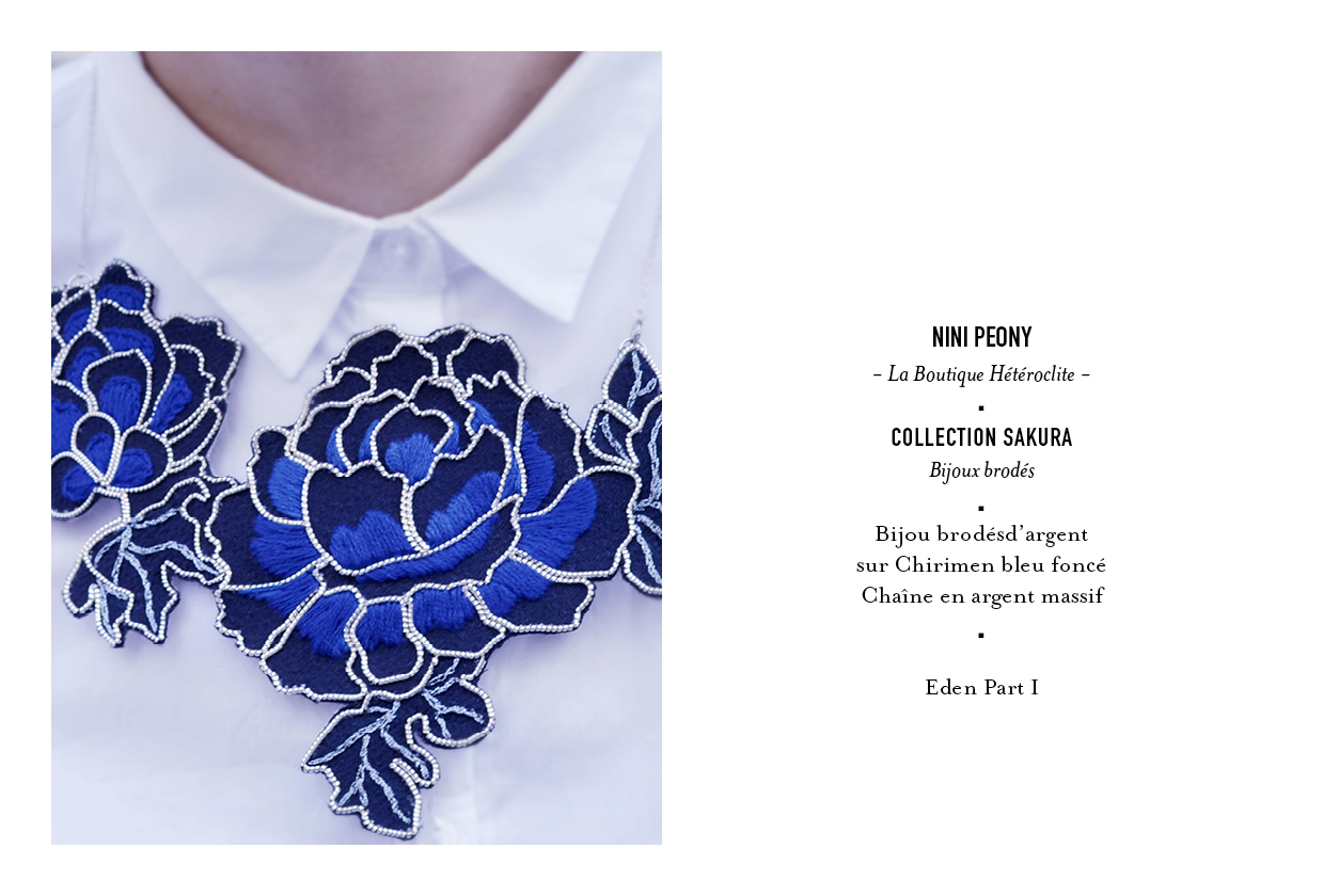 Bekannt Nini Peony - Catalogue de bijoux brodés Sakura HL05