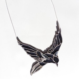 Blue Bird Collar