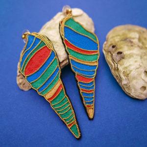 boucle shells pair