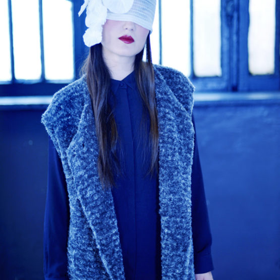 Manteau en laine Nini Peony